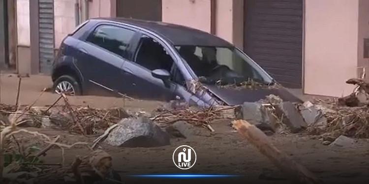 ايطاليا: 3 قتلى على الأقل في فيضانات وأمطار طوفانية