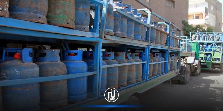 الحرس الوطنيّ يؤمّن عمليّة تزويد ولاية القصرين بكميّة من الغاز المنزلي