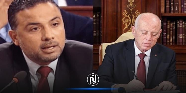 مخلوف: رئيس الجمهوريّة يتصرّف كعنصر معارض ويؤسّس تنسيقيّات غير قانونيّة