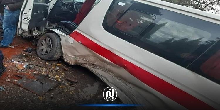 نابل: اصابات في حادث اصطدام شاحنة ثقيلة بسيارة ''لواج''