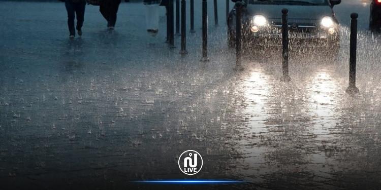 هذه اللّيلة: سحب رعديّة وأمطار غزيرة بهذه المناطق