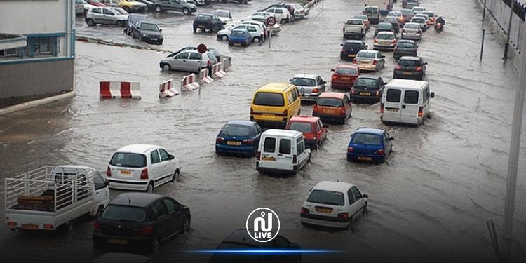 الأمطار تتسبّب في  خسائر بعدد من الولايات الجزائرية