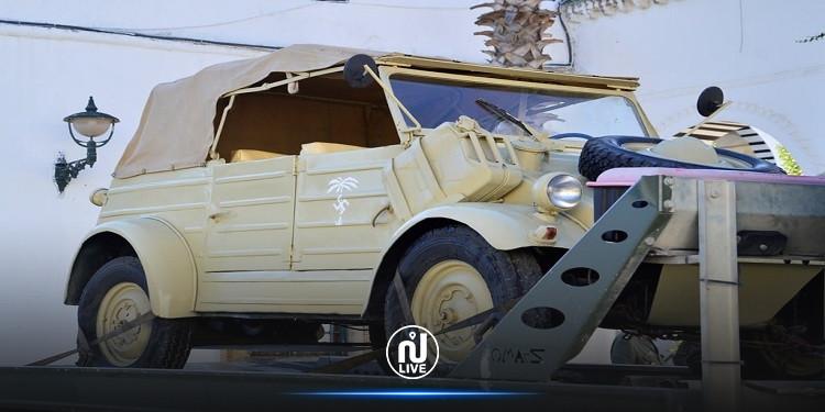 تعزيز متحف خط مارث الدفاعي  بسيارة عسكرية من الحرب العالمية الثانية (صور)