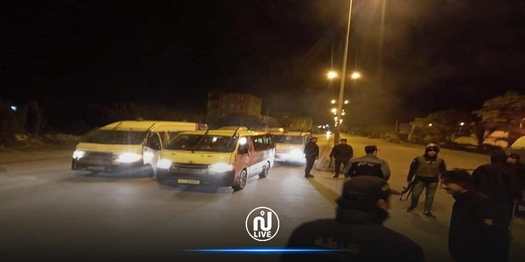 المنستير: الوحدات الأمنية تتصدى لمنحرفين حاولوا خلع مستودع بلدي وفضاء تجاري