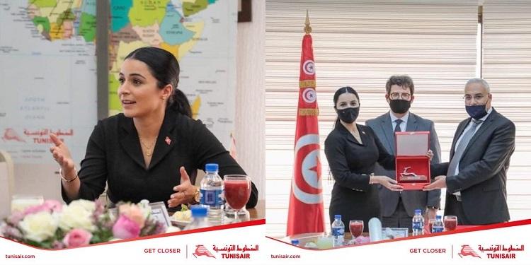 الرّئيسة المديرة العامة  الجديدة لـ''التونسيار'' ألفة الحامدي: هدفنا اقلاع الغزالة من جديد