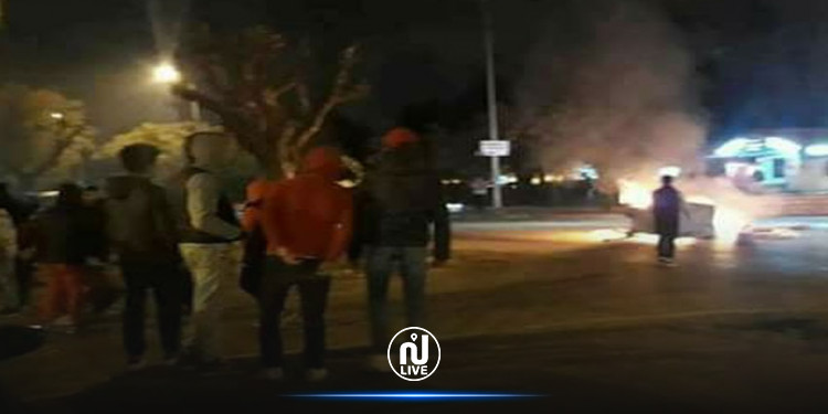 القصرين: مناوشات ليلية  في حي النور