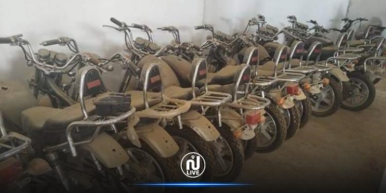 استرجاع شاحنة وسيارة  و7 دراجات نارية سرقوا من المستودع البلدي بجمال