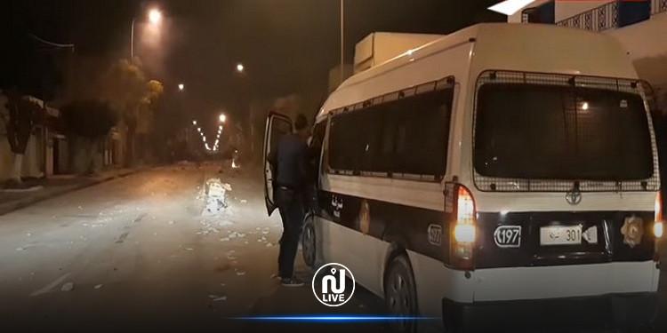 منوبة: ايقاف 16 مراهقا في أحداث الشغب الليلية