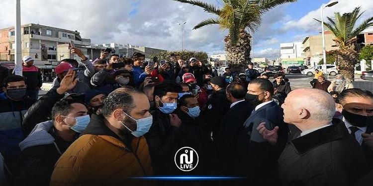 رئاسة الجمهورية تنفي إساءة قيس سعيد لليهود