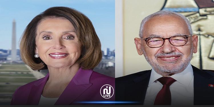 تزامنا مع تنصيب بايدن:  الغنوشي يتضامن مع الكونغرس الأمريكي