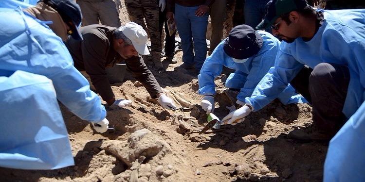 العراق : العثور على مقبرة جماعية خلفها تنظيم ''داعش'' في بابل