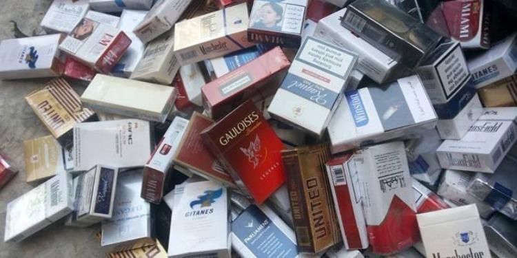 تطاوين: حجز 2570 خرطوشة سجائر أجنبية مهربة