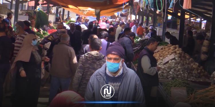 تعليق  السوق الأسبوعية بسيدي بوزيد بسبب كورونا