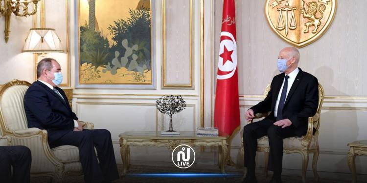 سعيّد يدعو تبّون لزيارة تونس