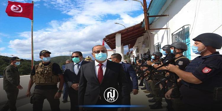 المشيشي يأذن بتخصيص 100 ألف دينار لتهيئة  المركز الحدودي ببوش