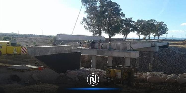 سليانة : جسر وادي بوعرادة يدخل حيز الاستغلال قريبا