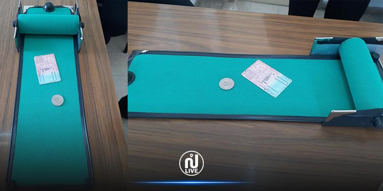 مواطن يخترع جهازا لتعقيم النقود و الوثائق من فيروس كورونا (صور+ فيديو)