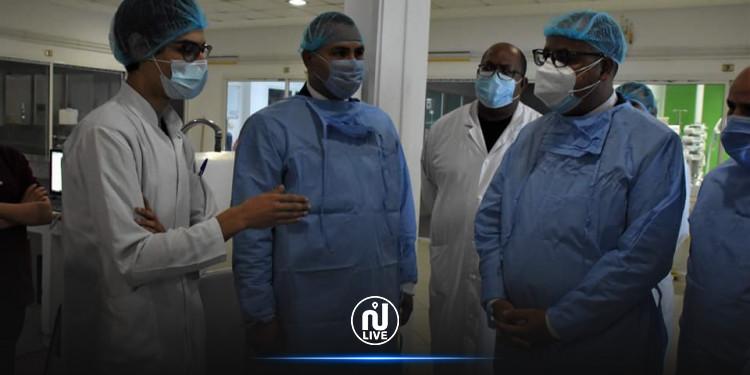 المشيشي في زيارة غير معلنة لمستشفى فطومة بورقيبة بالمنستير (صور)