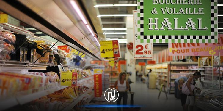 وزير الداخلية الفرنسي  منزعج  من  بيع المنتجات الحلال في المتاجر