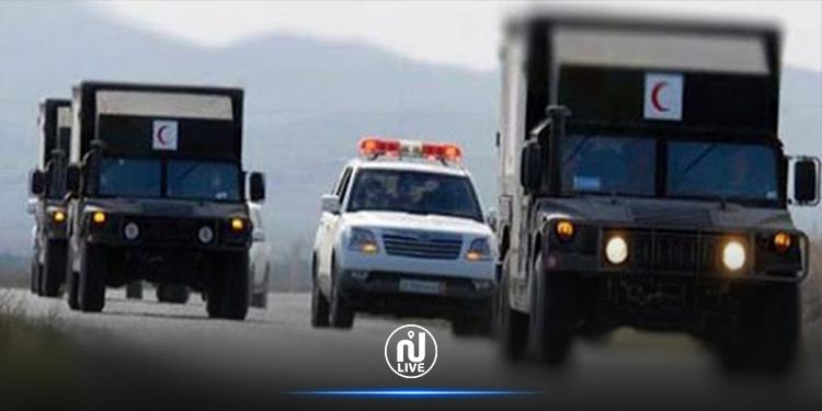 قافلة صحية عسكرية متعددة الاختصاصات  في ولاية جندوبة