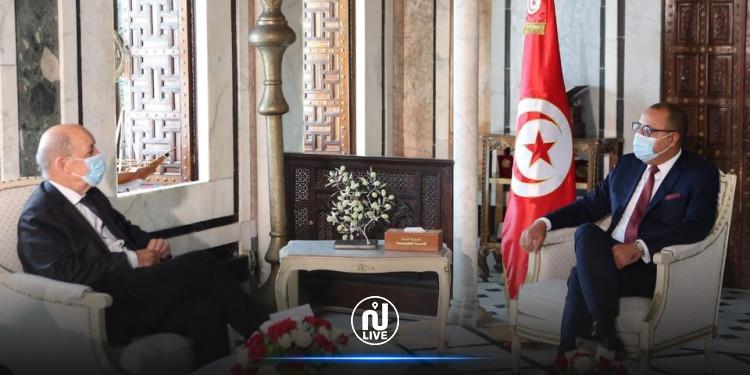 رئيس الحكومة يلتقيوزير الشؤون الأوروبية والخارجية الفرنسي