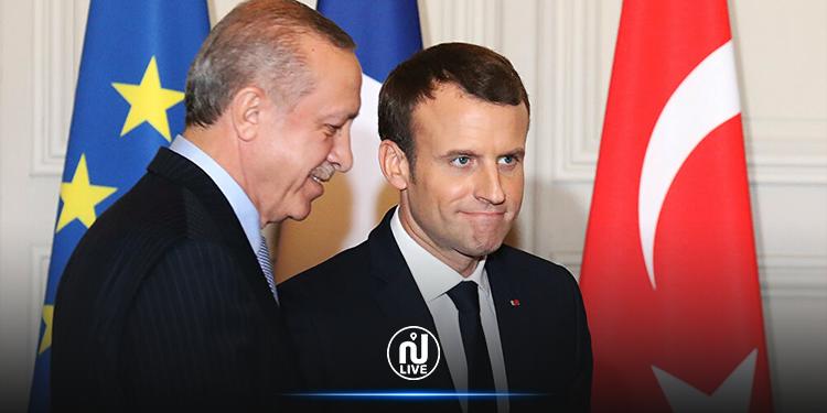 الرئاسة الفرنسية ترد على أردوغان : ''تصعيد اللهجة والبذاءة لا يمثلان نهجاً للتعامل''