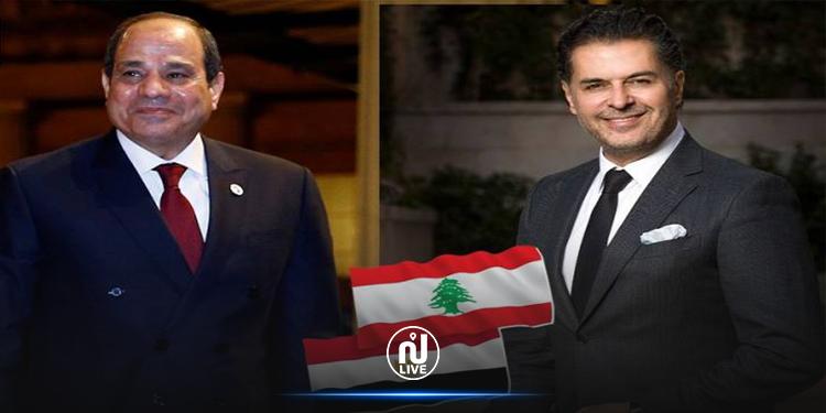 راغب علامة : إن شاء الله يجيلنا رئيس زي  السيسي  في لبنان (فيديو)
