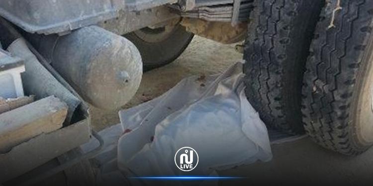 وفاة مسنّ دهسا تحت عجلات شاحنة ثقيلة في بنزرت