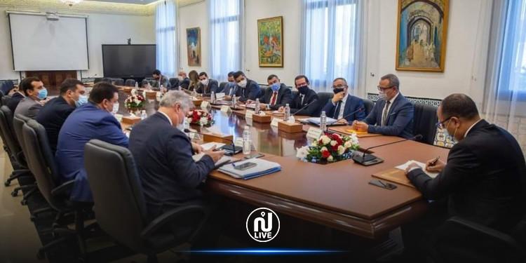 مشروع قانون المالية لسنة 2021 محور لقاء بين مشيشي و  رؤساء الكتل البرلمانية
