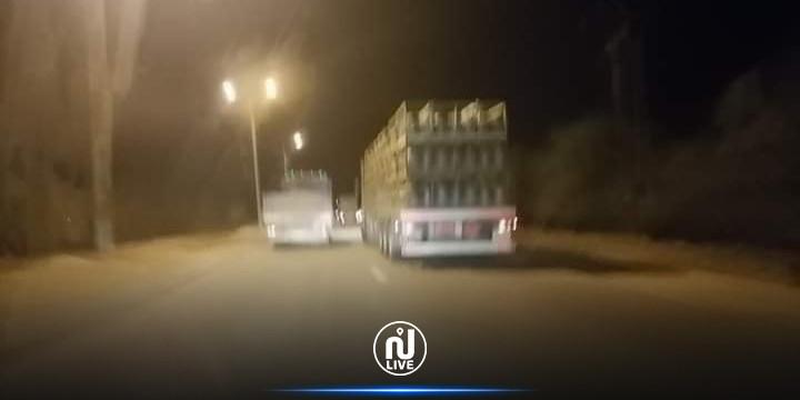 أكثر من 10 شاحنات غاز مؤمنة بحراسة أمنية مشددة في اتجاه ولايتي مدنين و تطاوين