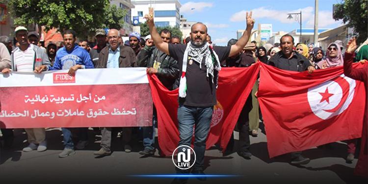 مجمع التنسيقيات الجهوية لعمال الحضائر: لا خطوط حمراء بعد اليوم
