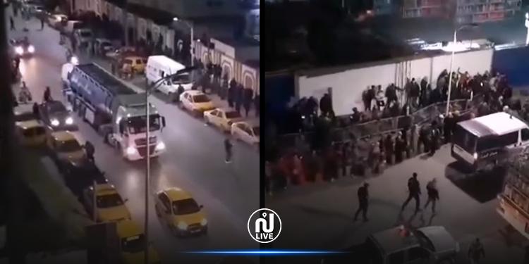 لحظة وصول شاحنات قوارير الغاز إلى صفاقس (فيديو)