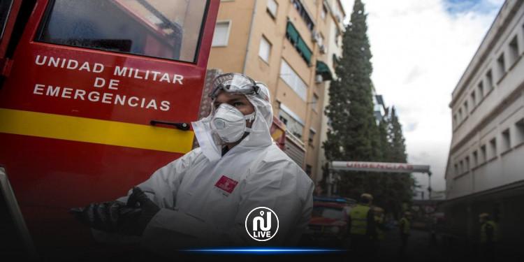 إسبانيا تسجل قفزة غير مسبوقة في إصابات كورونا