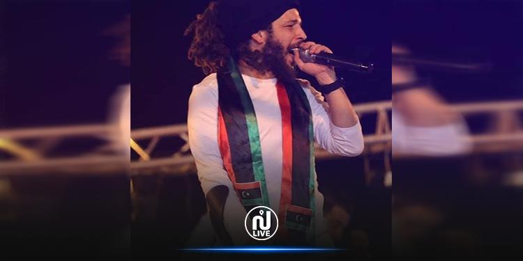 كافون يهدي أغنية ''في راسي'' للشعب الليبي (فيديو)