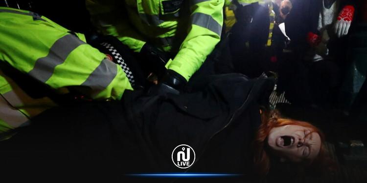 بريطانيا : الشرطة تواجه انتقادات واسعة بعد تفريق مظاهرة مناهضة للعنف ضد المرأة
