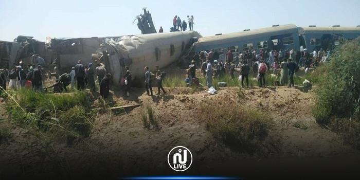 نتائج التحقيقات في حادث تصادم قطاري سوهاج في مصر