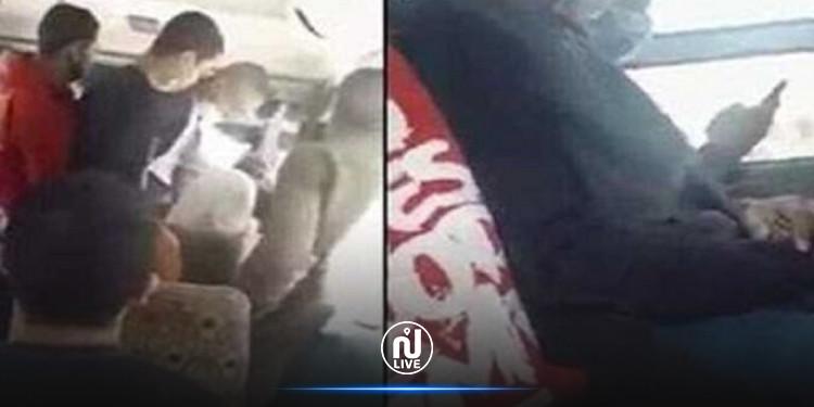 مصر.. رجل يفتح سرواله في الحافلة ويتحرش بامرأة (فيديو)