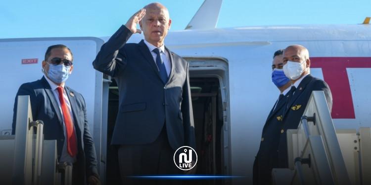 سعيد في تصريح لصحيفة ''لاريبوبليكا'' :  ''تونس  في هذه المرحلة تشهد انقساما بين السلط التنفيذية و التشريعية  حول ممارسة الصلاحيات''