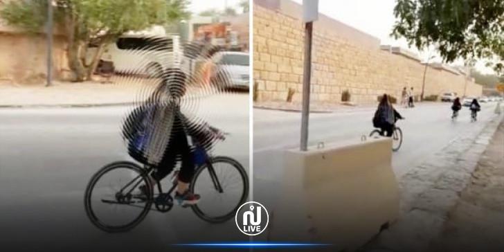 إيقاف سعودي صور نساء يمارسن الرياضة وأهانهن