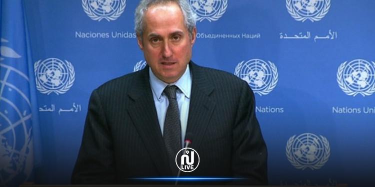 المتحدث باسم الأمين العام للأمم المتحدة: التزام الجميع في تونس بالقانون والحريات وعمل المؤسسات حاجة ماسة