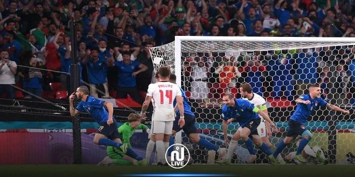 إيطاليا تتوج بلقب بطولة كأس أمم أوروبا لكرة القدم