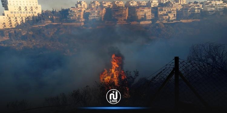 بعد عمليات إطفاء استمرت 52 ساعة:  السيطرة على حرائق القدس
