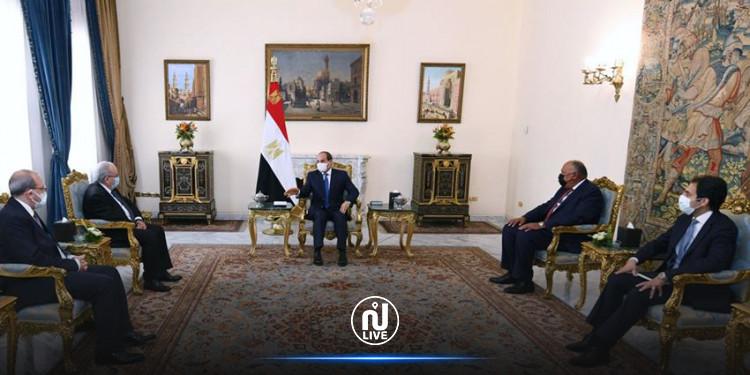 توافق مصري جزائري لدعم  الاستقرار وصون ارادة واختيارات الشعب التونسي