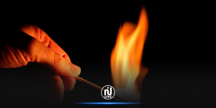 تطاوين: شاب يُضرم النار في جسده