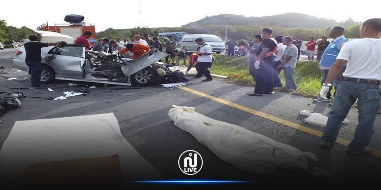 732 قتيلا جراء حوادث المرور في تونس منذ جانفي