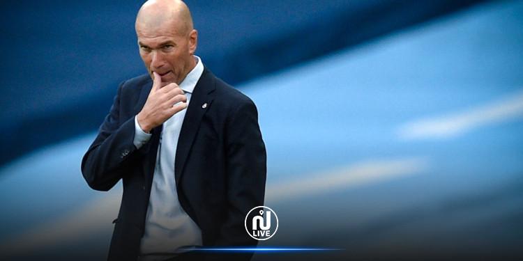 Zinedine Zidane testé positif à la Covid-19