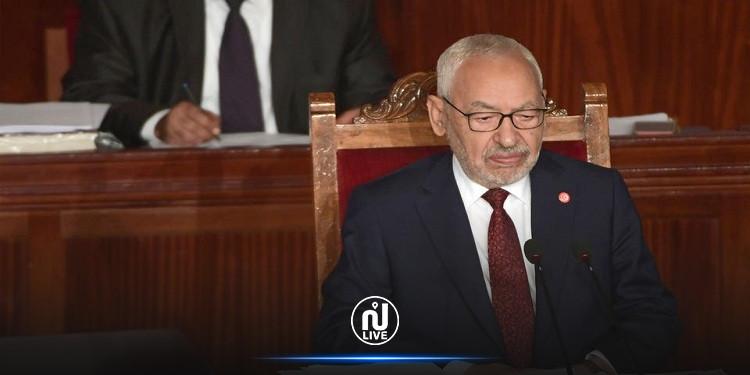 """Rached Ghannouchi condamne """"la violence verbale"""" exercée par deux députés du bloc démocratique contre des députés de la coalition Al Karama"""