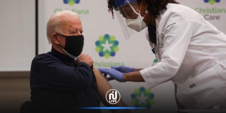 Etats-Unis : Joe Biden reçoit la deuxième dose de vaccin contre la Covid-19