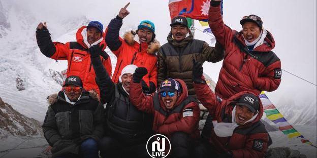 Pour la première fois, le mont K2 a été grimpé en mode « hiver »