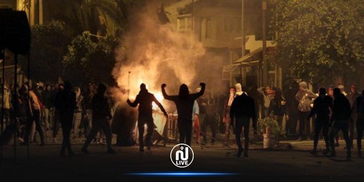 Béja : Affrontements entre les forces de sécurité et des groupes de jeunes